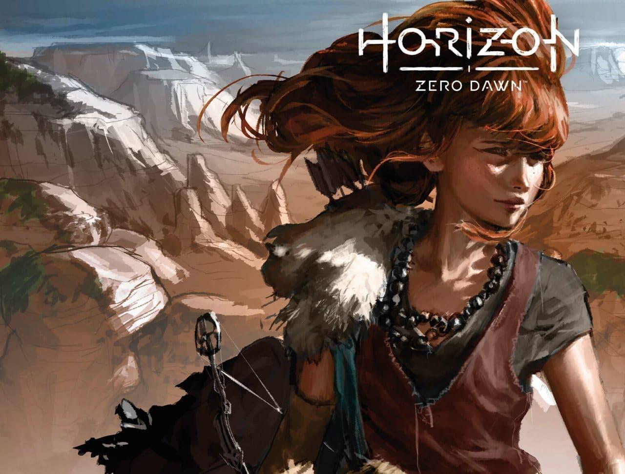 Imagem da Aloy pequena na HQ de Horizon Zero Dawn