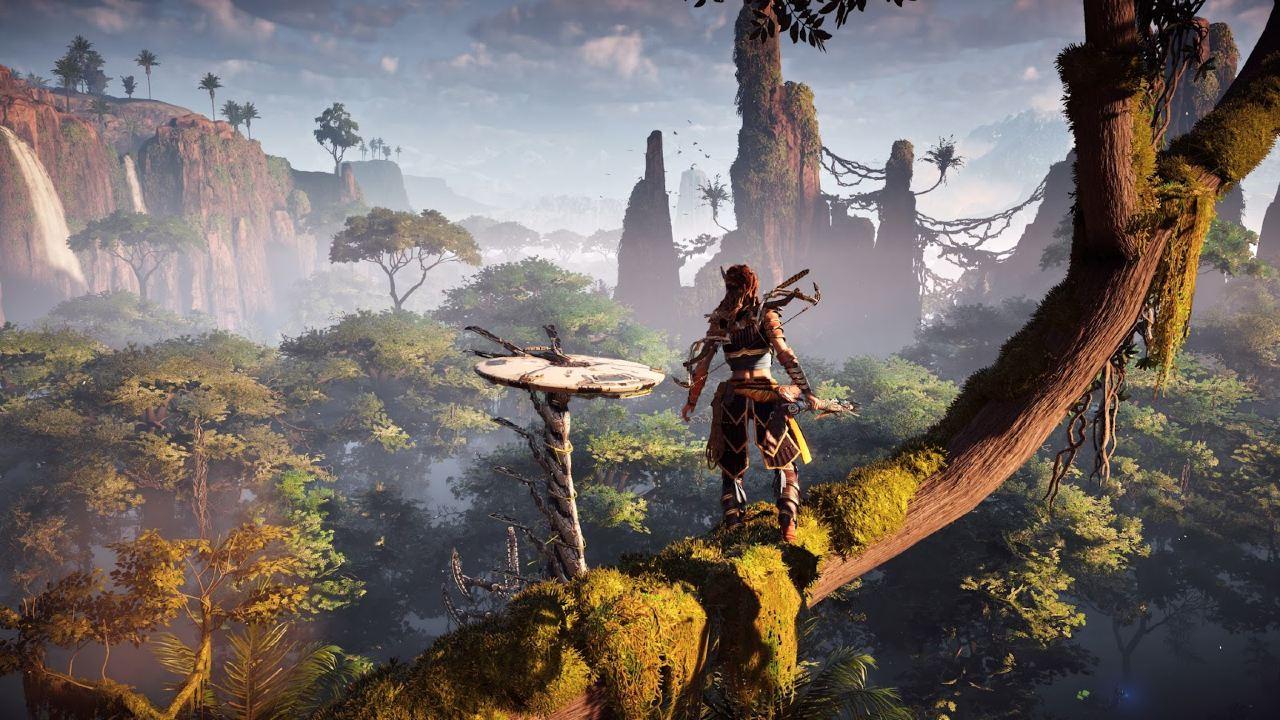Horizon: Zero Dawn - Top 10 jogos de mundo aberto do PlayStation