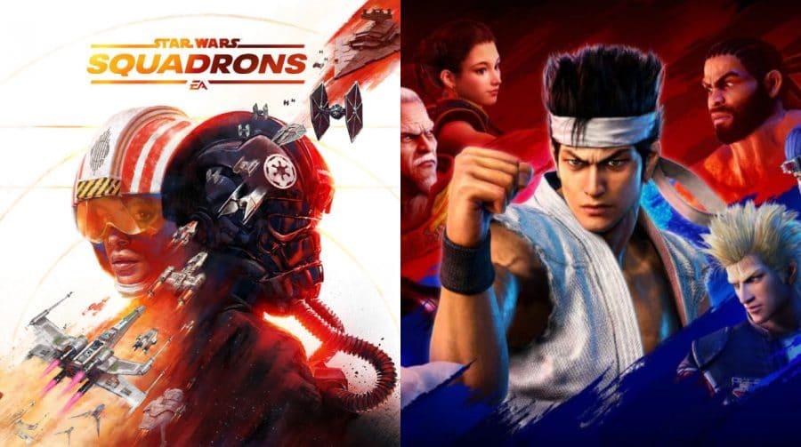 PS Plus de junho pode ter Star Wars Squadrons e Virtua Fighter 5 [rumor]