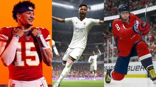 Electronic Arts promete muitas inovações para seus próximos jogos esportivos
