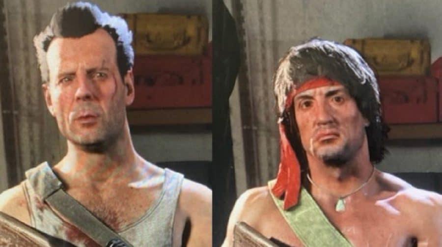 Warzone: modelos de Rambo e John McClane aparecem na internet