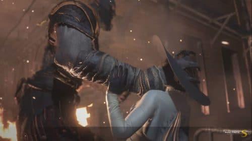 Modder faz Lady Dimitrescu e Kratos se enfrentarem em Resident Evil 3
