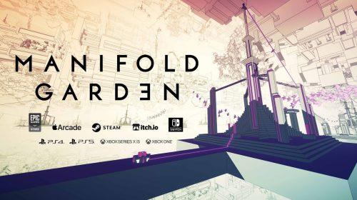 Manifold Garden, jogo de quebra-cabeça, chega no final de maio ao PS5