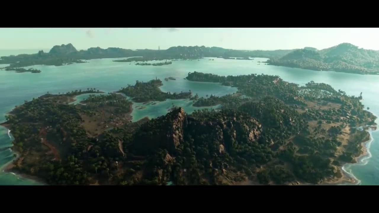 Imagem da ilha de Yara de Far Cry 6 vista de cima