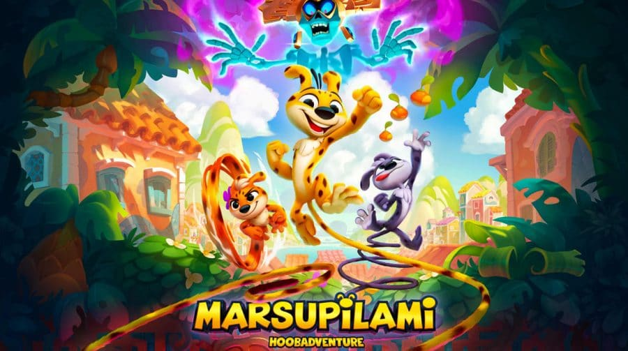 Jogo de plataforma 2.5D, Marsupilami: Hoobadventure é anunciado para PlayStation 4