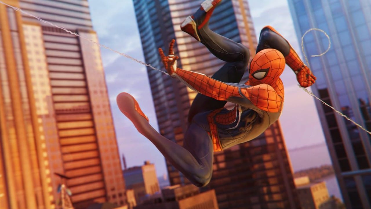 Marvel's Spider-Man - top 10 jogos de mundo aberto do PlayStation