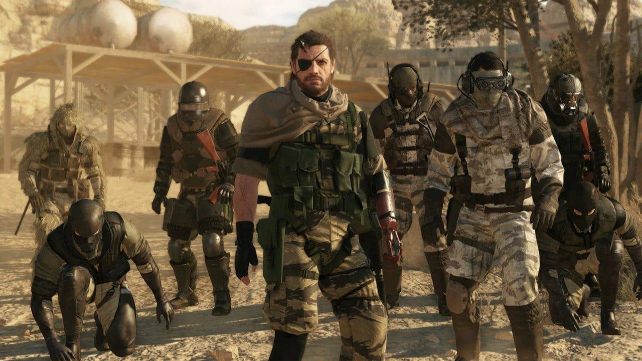 Metal Gear V - Snake e seus comandados - Top 10 jogos de mundo aberto do PlayStation