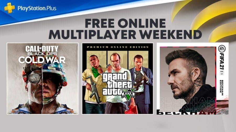 PlayStation anuncia fim de semana com multiplayer online gratuito sem necessidade de PS Plus