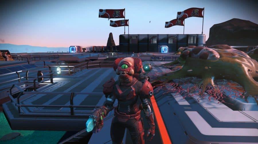 Jogadores de No Man's Sky estão trollando uns aos outros em evento