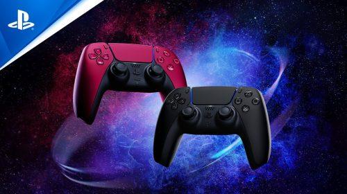 Novas cores do DualSense já estão disponíveis no Brasil