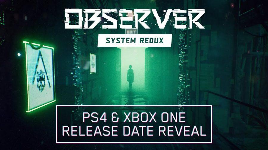 Observer: System Redux chegará ao PlayStation 4 em julho