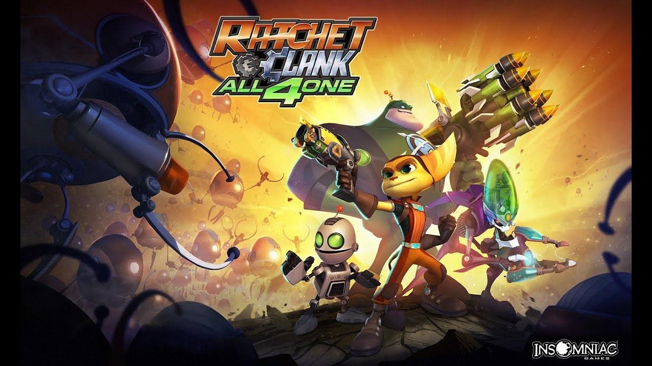 Os melhores jogos de Ratchet & Clank - All 4 One