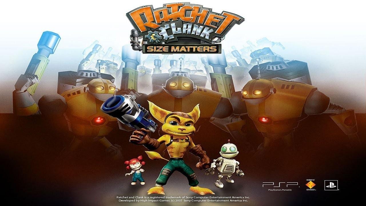 Os melhores jogos de Ratchet & Clank - Size Matters