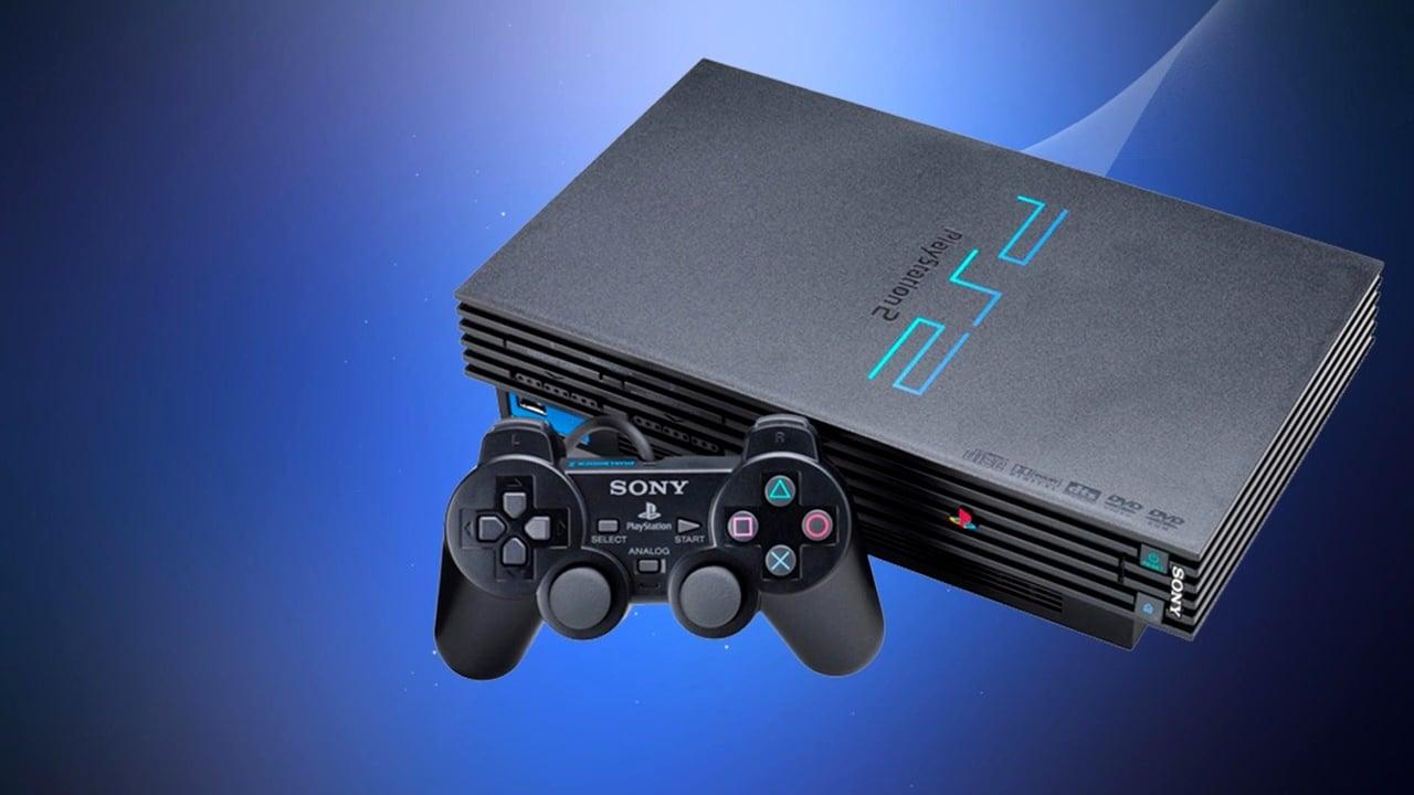 PlayStation mais vendidos - PS2, console mais vendido da marca com fundo azul.