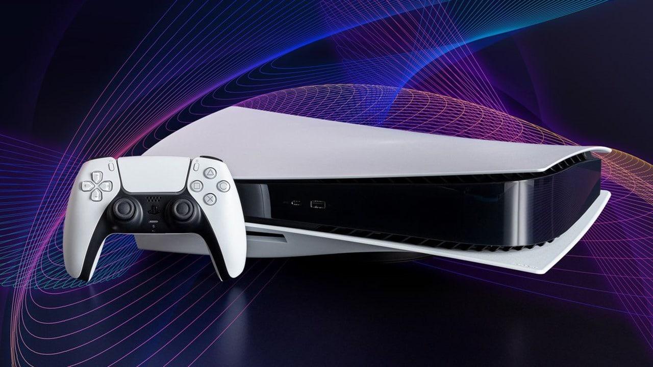 PlayStation mais vendidos - PS5 com o fundo azul