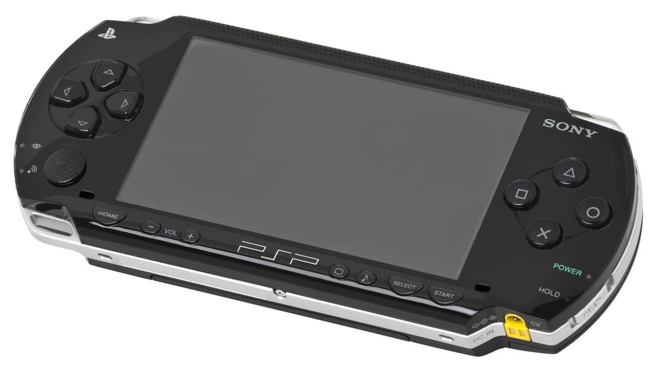 PlayStation mais vendidos - PSP com fundo branco