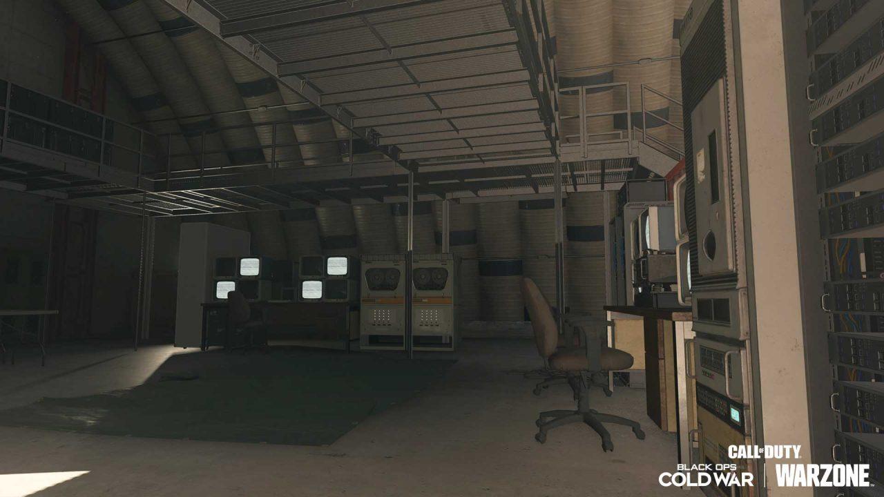 Imagem de uma sala antiga em Warzone