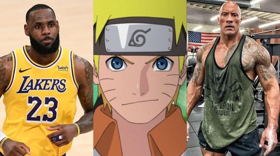 Fortnite pode ter crossover com Naruto, NBA, The Rock e muito mais