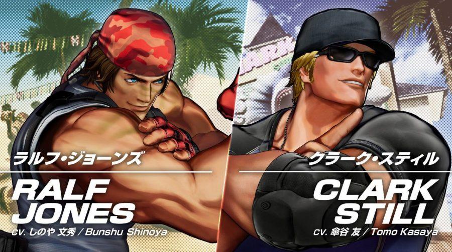 Time Ikari completo: Ralf Jones e Clark Still são confirmados em The King of Fighters XV