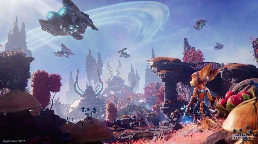 Trailer de Ratchet & Clank: Em Uma Outra Dimensão explora os planetas do game