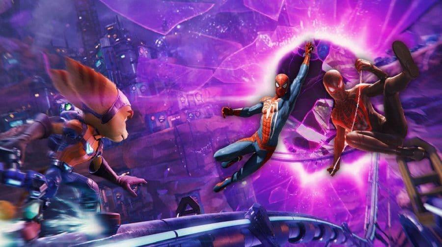Ratchet & Clank: Em Uma Outra Dimensão foi influenciado por Marvel's Spider-Man e Sunset Overdrive
