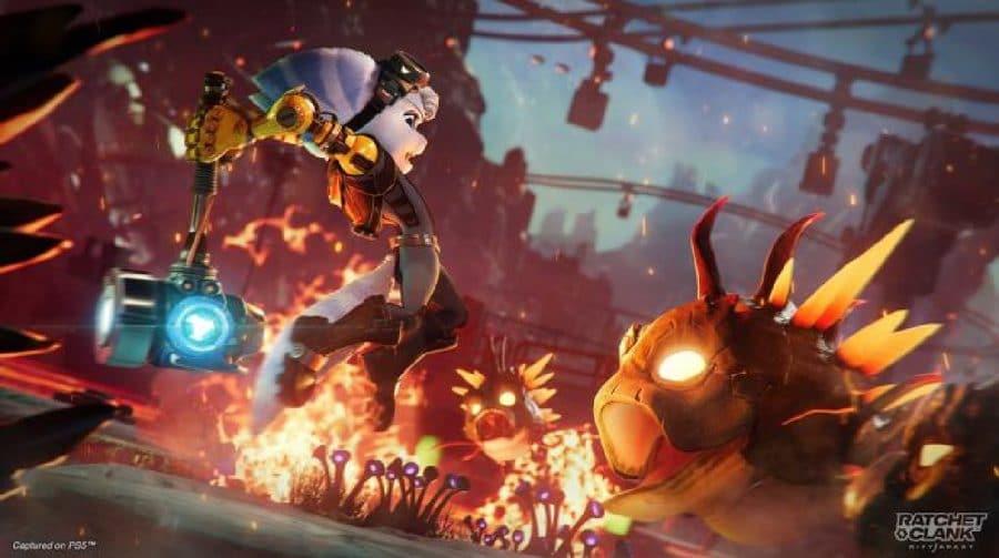 Platina de Ratchet & Clank: Em Uma Outra Dimensão pode ser obtida em apenas um gameplay
