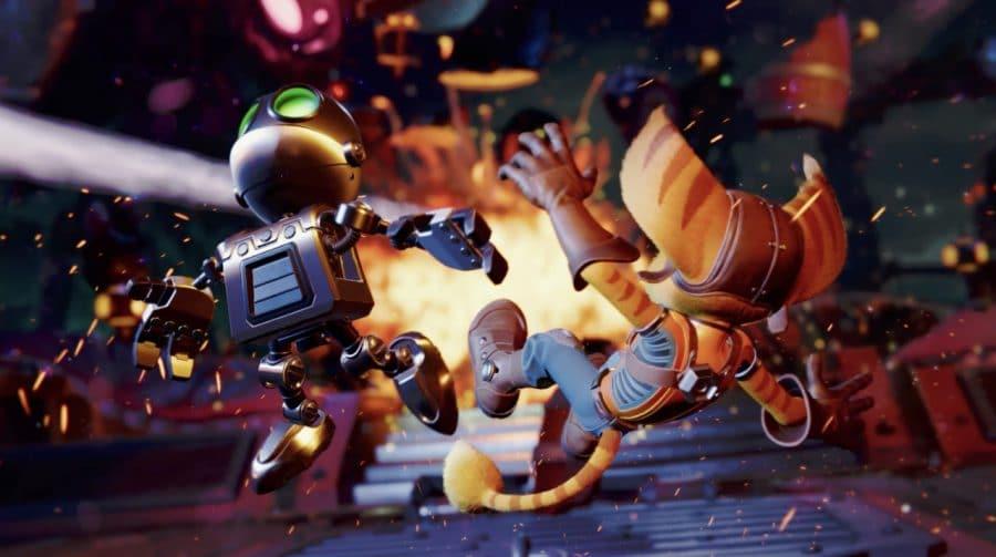 Insomniac revela parte dos troféus de Ratchet & Clank: Em Uma Outra Dimensão