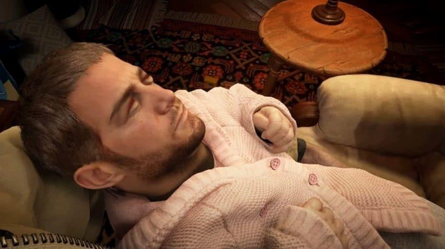 RE Village: modder troca cabeça de bebê por Chris Redfield e resultado é bizarro