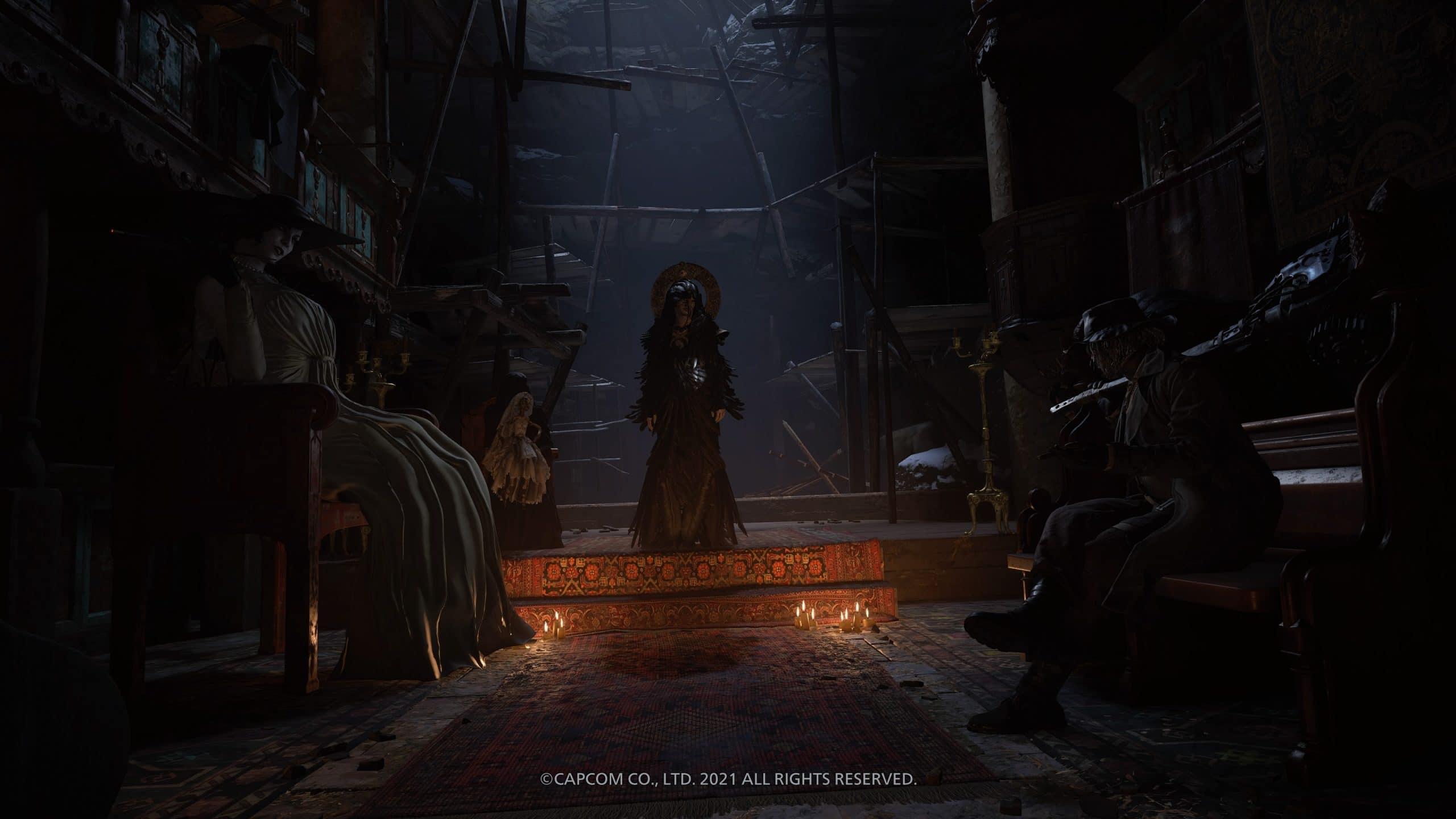 Mãe Miranda é a grande vilã de Resident Evil Village (Foto: Reprodução/Thiago Barros)
