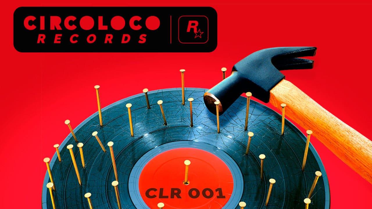 Imagem da capa da nova gravadora de música da Rockstar, de GTA Online, CircoLoco Records