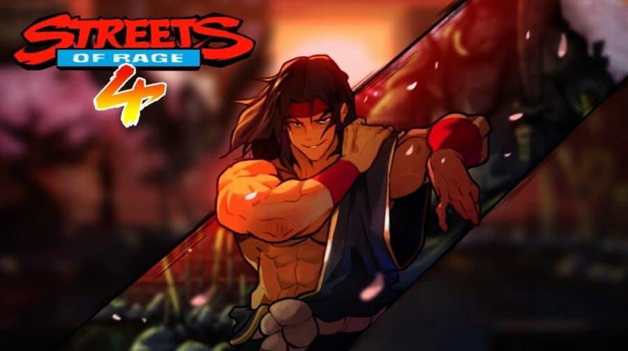 Shiva chegará a Streets of Rage 4 como personagem selecionável