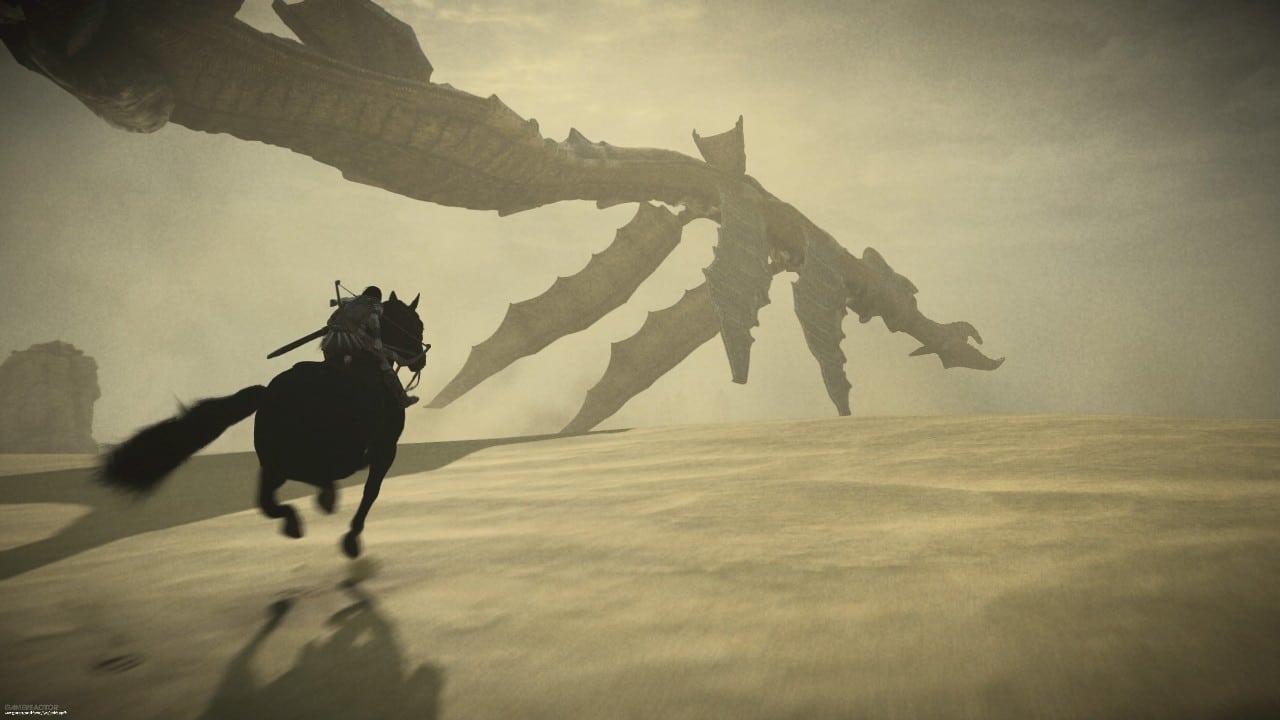 Shadow of the Colossus - top 10 jogos de mundo aberto do PlayStation
