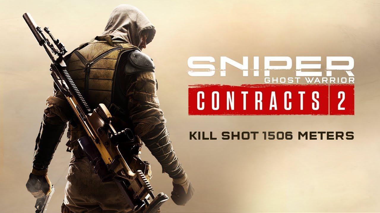 Homem com uma sniper em Sniper Ghost Warrior Contracts 2