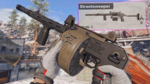 Warzone: escopeta Streetsweeper pode sofrer nerf em breve