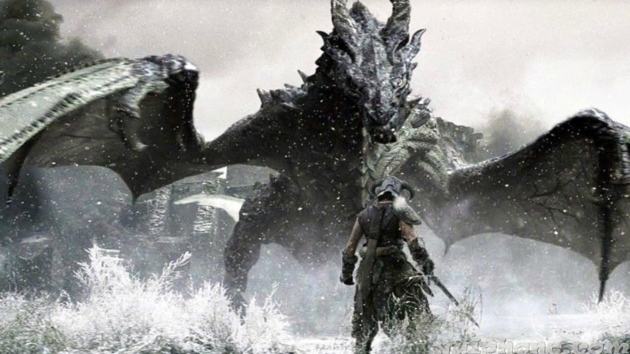 The Elder's Scrolls: Skyrim - top 10 jogos de mundo aberto do PlayStation