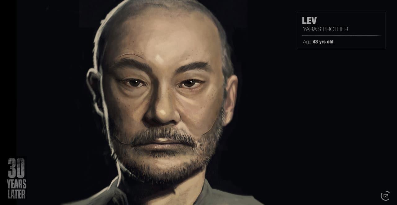 Imagem de capa de Lev de The Last of Us 2 com uma versão mais velha