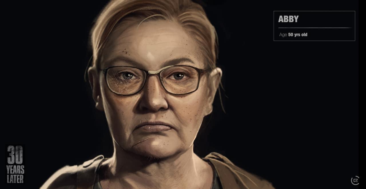 Imagem de capa da Abby de The Last of Us 2 com uma versão mais velha