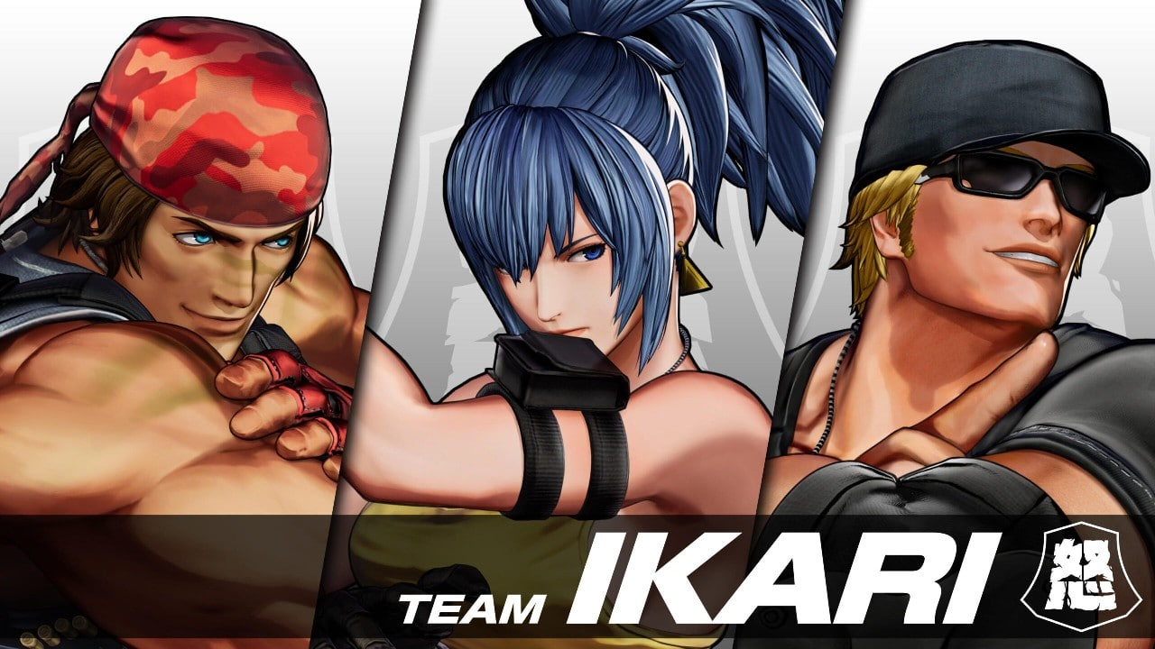 Time Ikari - The King of Fighters XV