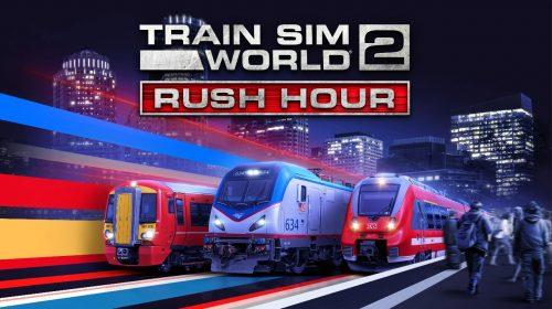 Train Sim World 2 chega ao PlayStation 5 junto da expansão A Hora do Rush
