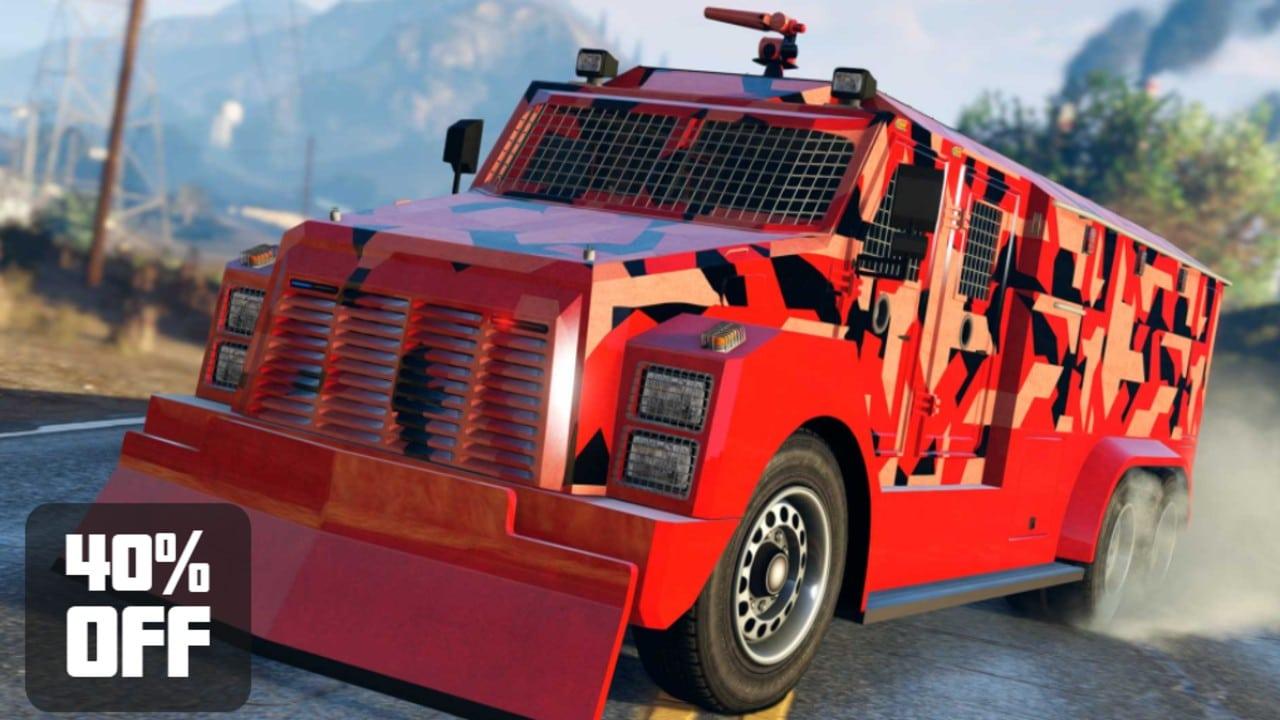 Veículo antitumulto da Brute - GTA Online
