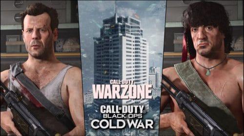 Activision divulga as estatísticas de Rambo e John McClane em Warzone