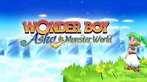 Wonder Boy: Asha in Monster World chega no final de maio ao PS4