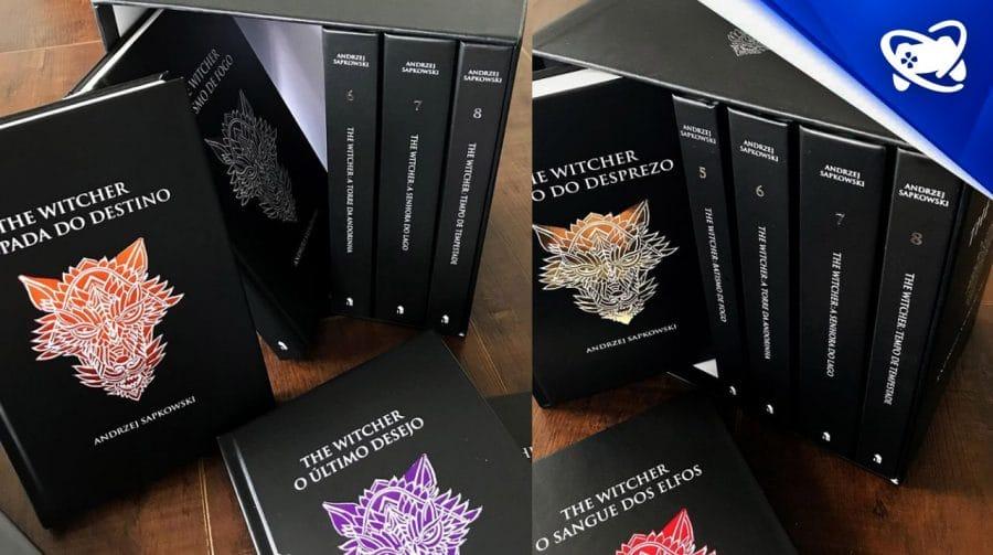 LIMITADO: Box especial dos livros The Witcher com 40% de desconto!