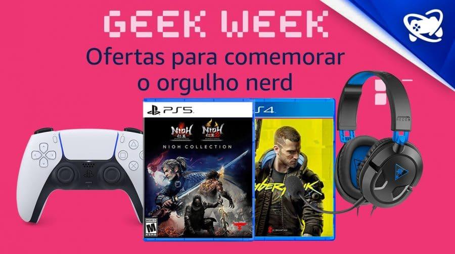 Vem ver! Geek Week oferece muitos descontos em games e mais