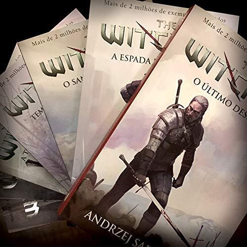 Livros de The Witcher capa game comprar