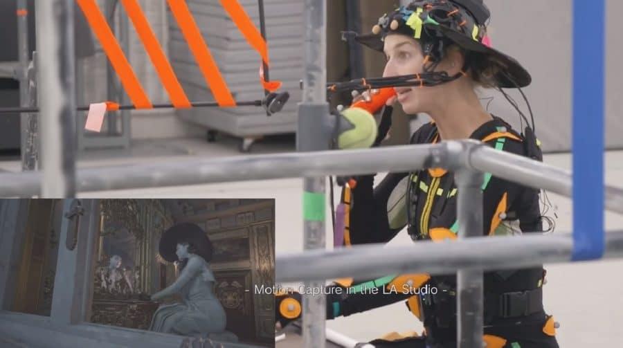 Por trás das câmeras: a captura de movimentos em Resident Evil Village