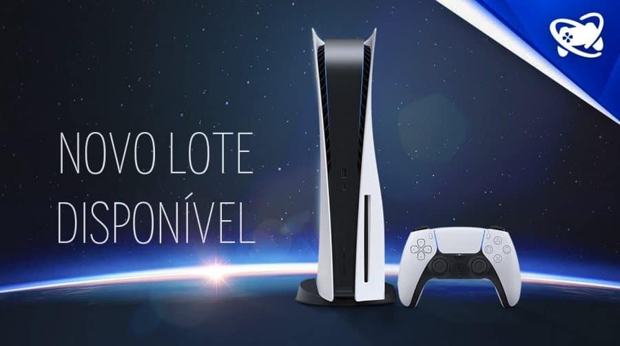 CORRE! Novo lote de PlayStation 5 disponível para reserva