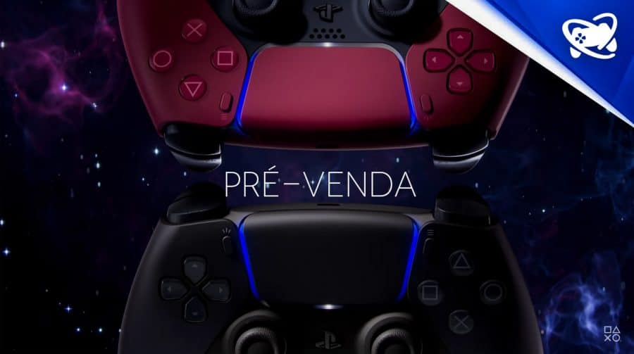 Prepare-se: Pré-venda das novas cores do DualSense começa amanhã (20)!