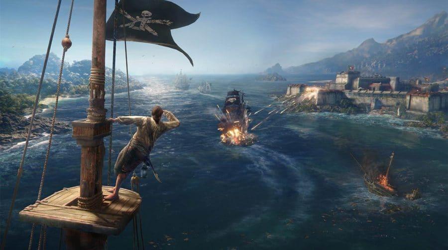 De novo: Ubisoft adia Skull & Bones para o ano fiscal de 2022