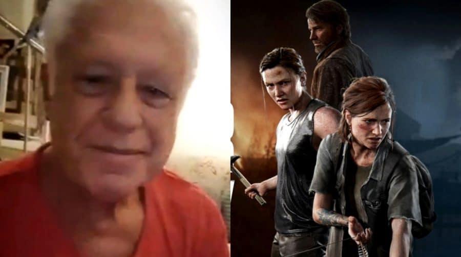 Nem pisca! Antônio Fagundes aparece jogando The Last of Us 2